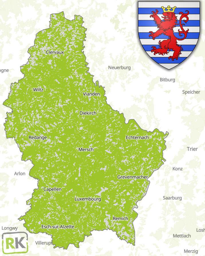 Entruempelung Letzebuerg Einzugsgebiet
